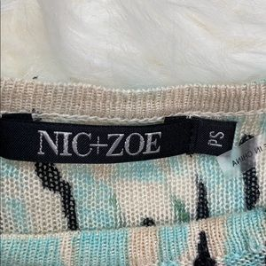 NIC+ZOE Sweaters - Nic + Zoe Lightweight Long Sleeve Sweater
